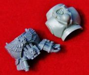 Space Marine Command Squad Apothecary Torso Body front and back